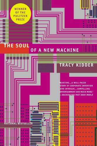 Soul of a New Machine book cover